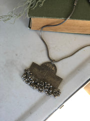 Vintage style Indian charm necklace