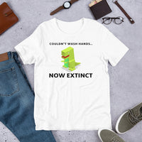 COULDN'T WASH HANDS Short-Sleeve Unisex T-Shirt