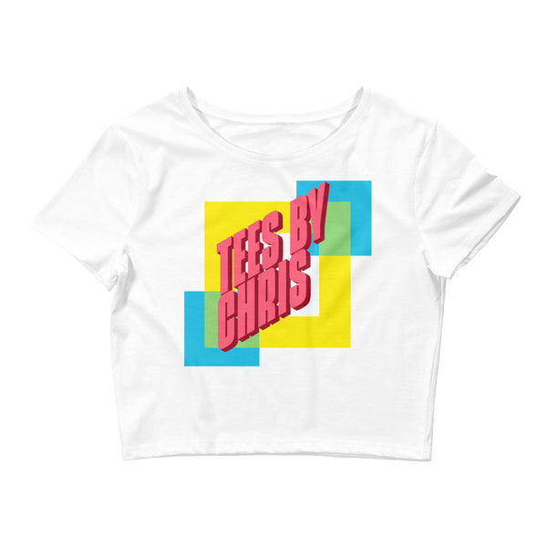 TEES BY CHRIS 90s Women's Crop Tee