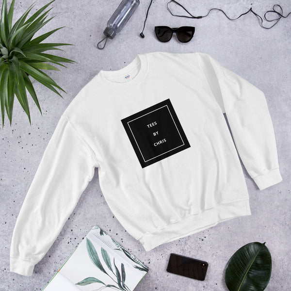 TEES BY CHRIS MONOCHROME Unisex Sweatshirt