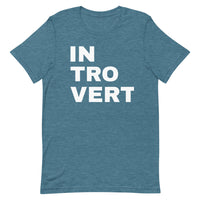 INTROVERT Short-Sleeve Unisex T-Shirt