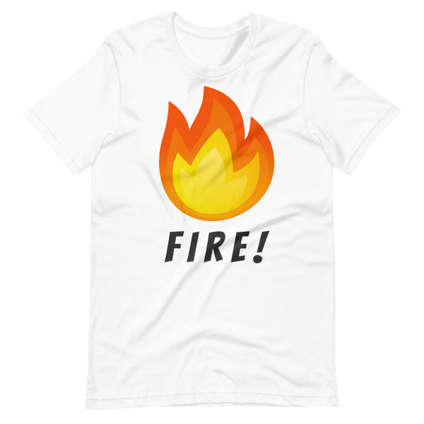 FIRE Short-Sleeve Unisex T-Shirt