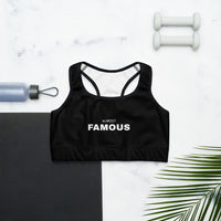 ALMOST FAMOUS Sports bra