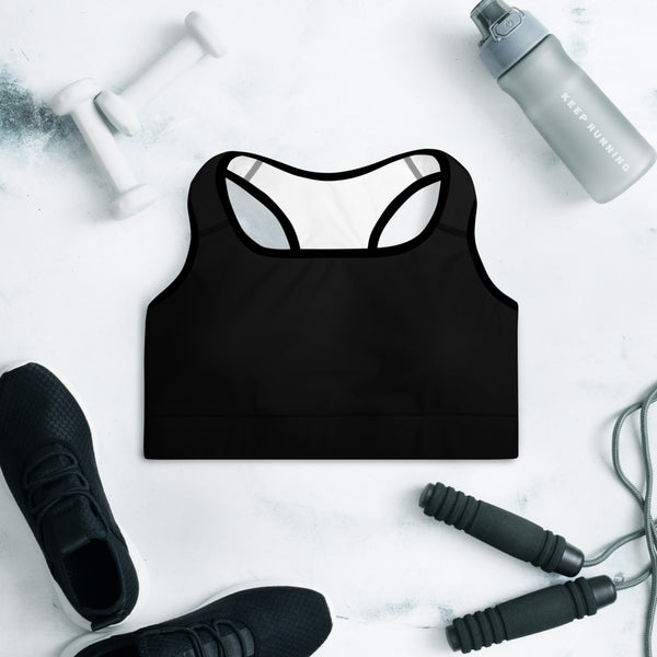 TEES BY CHRIS Padded Sports Bra