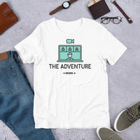 THE ADVENTURE BEGINS Short-Sleeve Unisex T-Shirt