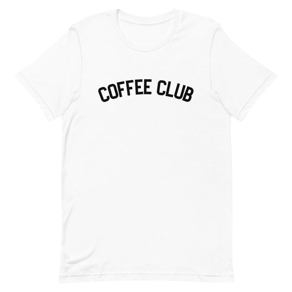 COFFEE CLUB Short-Sleeve Unisex T-Shirt