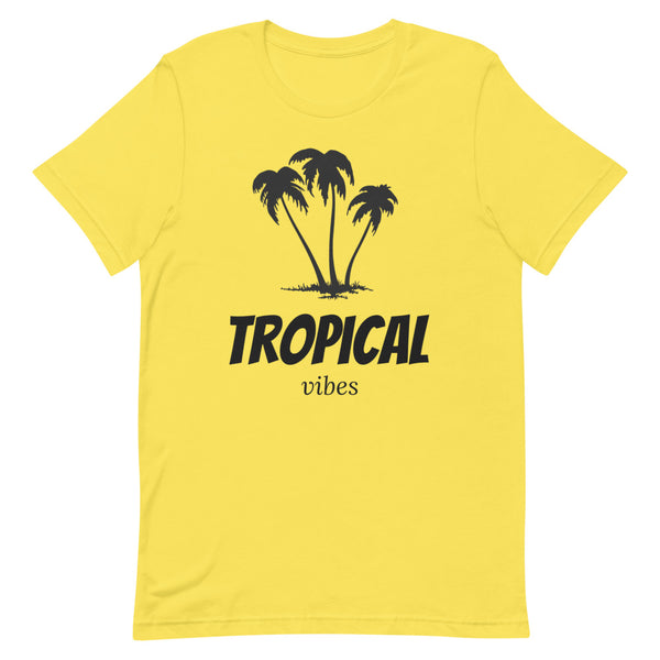 TROPICAL VIBES Short-Sleeve Unisex T-Shirt