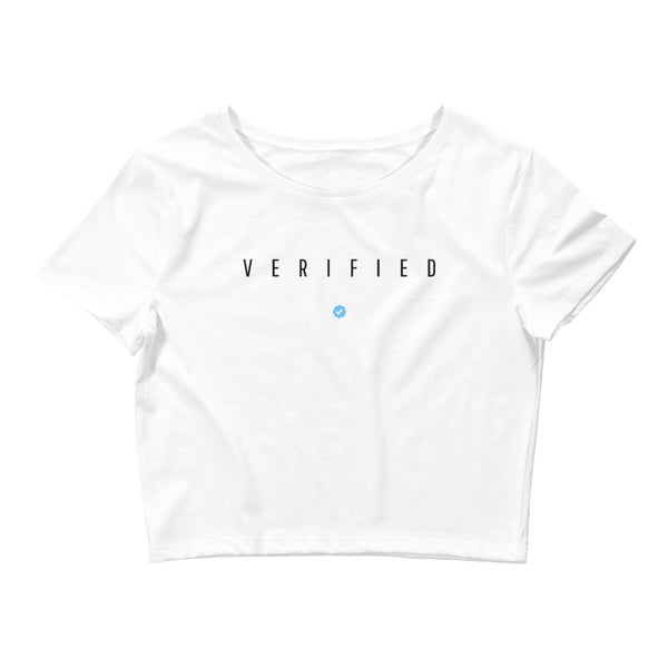 VERIFIED Women's Crop Tee