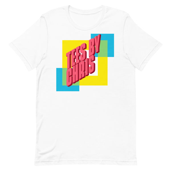 TEES BY CHRIS 90s Throwback Short-Sleeve Unisex T-Shirt