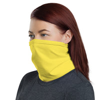 TEES BY CHRIS YELLOW Neck Gaiter