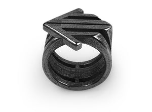 Arrow Ring 3d printed