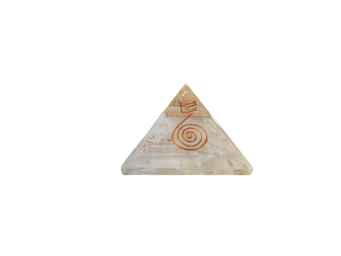 Clear Quartz Orgone Pyramid - Vastu Miracles