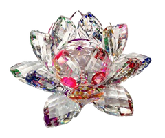 Crystal Lotus (Energised) for Overcoming Obstacles by vastumiracles