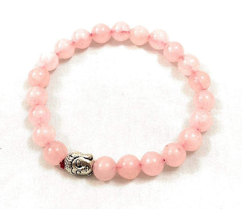 Rose Quartz bracelet for love - Vastu Miracles