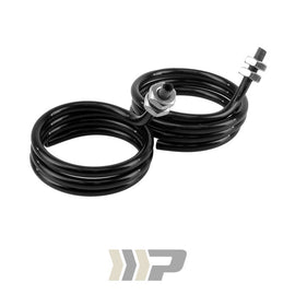 CABLE HOUSING, BLACK PLASTIC (PIGTAIL, PAIR)