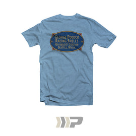 Built-By Badge T-Shirt (Light Blue)