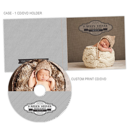 Personalized CD + CD Case | Regal