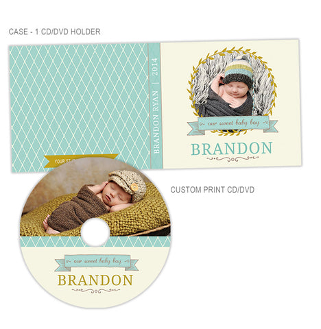 Personalized CD + CD Case | Diamond in the Sky