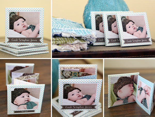 Precious Baby Accordion Mini Book