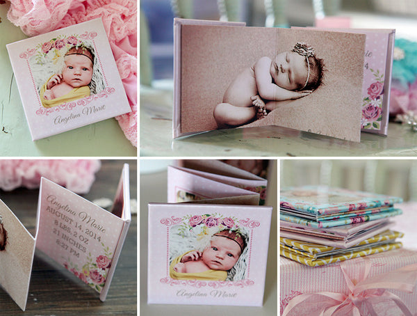 Think Pink Accordion Mini Book
