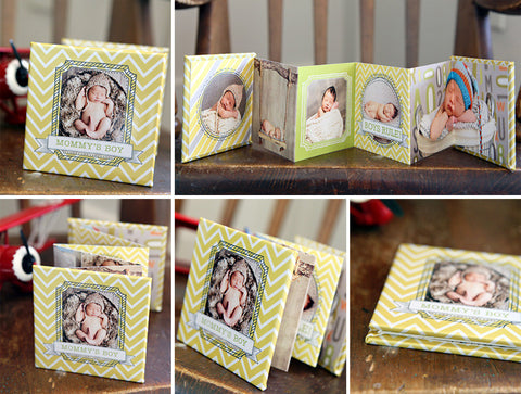 Accordion Mini Book | Boys Rule!