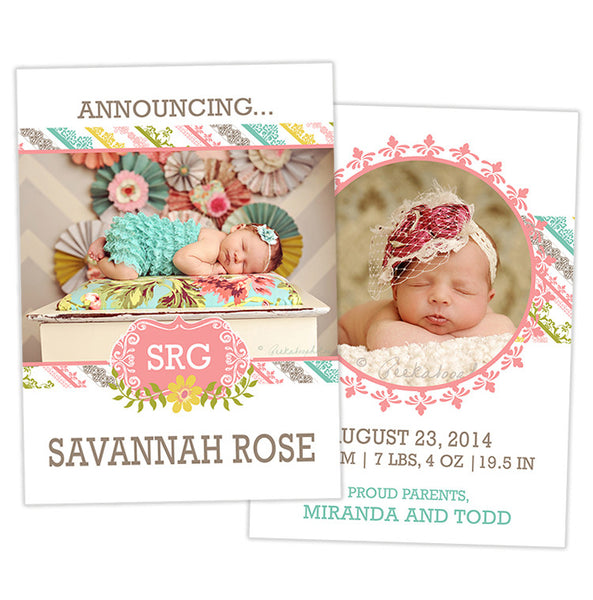 Birth Announcement | Light of My Life