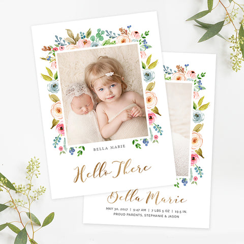 Birth Announcement | Althea