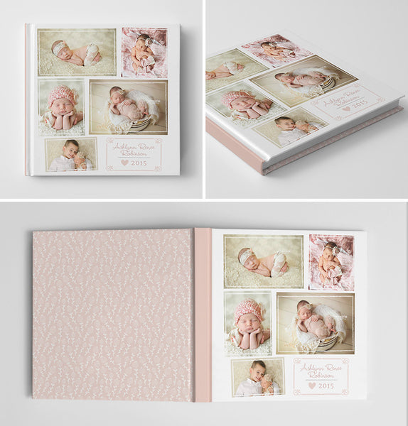 Baby Book Album | Welcome