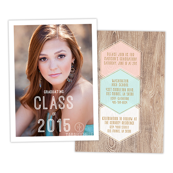Grad Announcement | Cover Girl