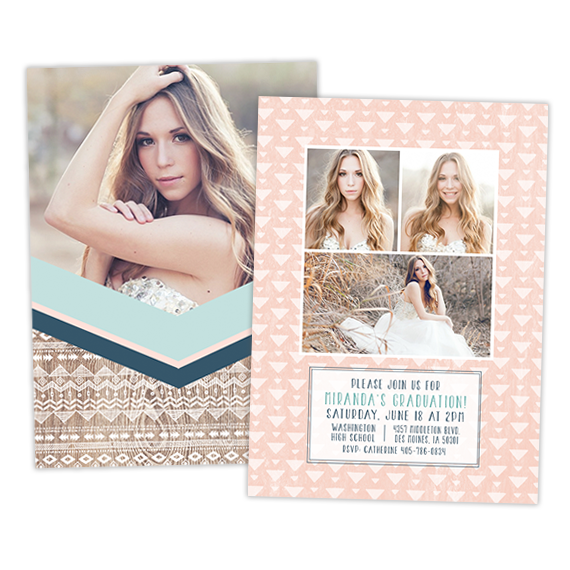 Grad Announcement | Boho Chic