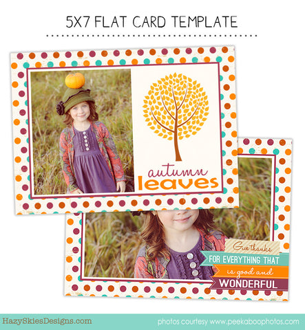 Fall Card | Autumn Leaves