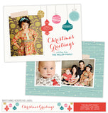Hanging Ornaments Photo Card