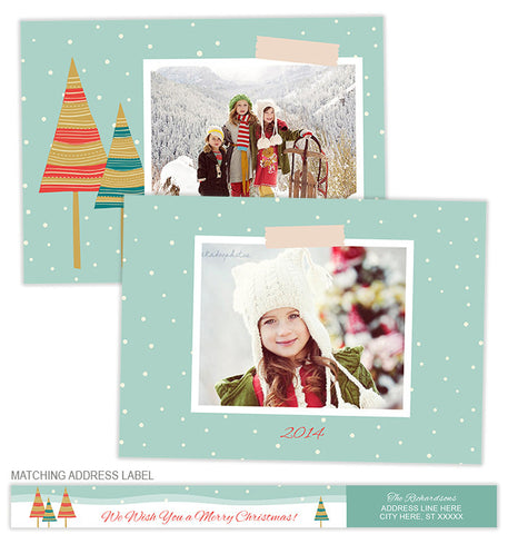 Winter Wonder Photo Card