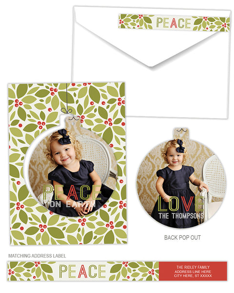 Luxe Pop Card | Holly