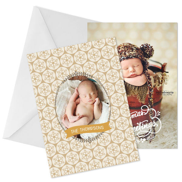 Holiday Photo Card | Christmas Greetings