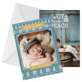 Holiday Photo Card | Joy Love Peace