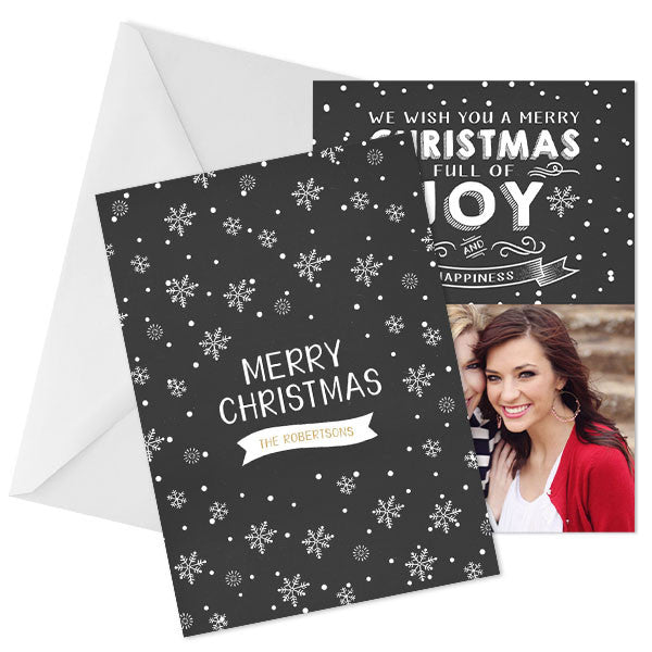 Holiday Photo Card | Warm Wishes
