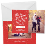 Holiday Photo Card | Hand Drawn
