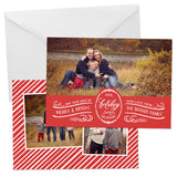 Holiday Photo Card | Calligraphy