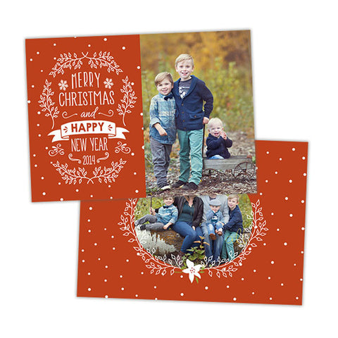 Christmas Photo Card | Let it Snow