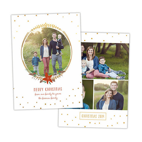 Christmas Photo Card | Deck the Halls