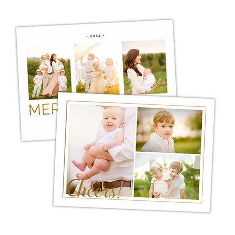 Christmas Photo Card | Aglow