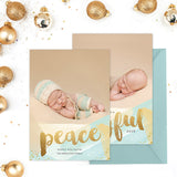 Holiday Photo Card | Peace