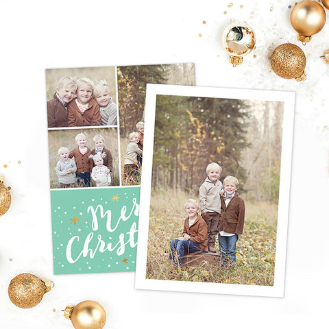 Christmas Card | Merry Mint