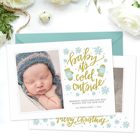 Holiday Card | Baby it's Cold Outside