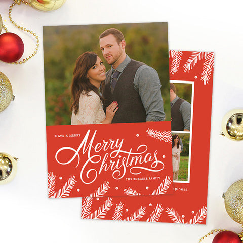 Christmas Card | Lots of Love