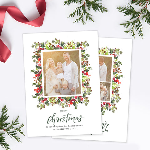 Christmas Card | Berry Christmas