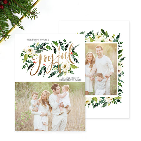 Christmas Card | Joyful