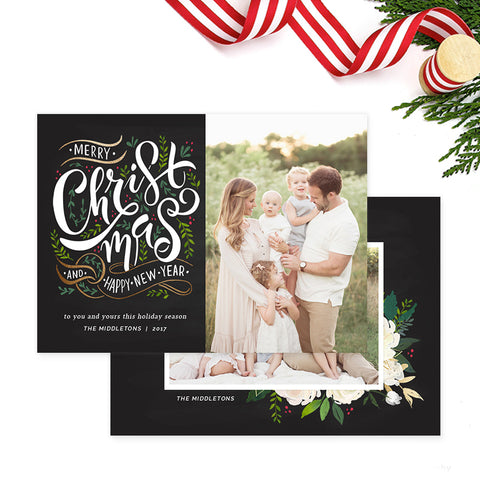 Christmas Card | Christmas Foliage