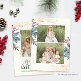 Christmas Card | Marbled